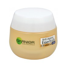 Garnier Essentials 35+ Anti-Wrinkle Care Night - Multiaktivní noční krém proti vráskám 50 ml