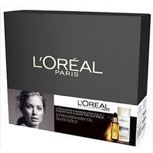 L´oreal Extraordinary Oil Nutri Gold Set - Dárková sada 200 ml