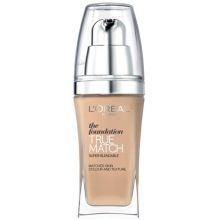 L´oreal True Match The Foundation - Make-up 30 ml - D7 Golden Amber