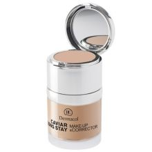 Dermacol Caviar Long Stay & Make-Up Corrector - Long lasting make-up with extracts of caviar and advanced corrector 30 ml 2 Fair