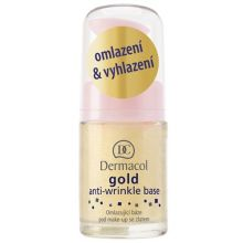 Dermacol Gold Anti-Wrinkle Base - Omlazující báze pod make-up se zlatem 15 ml