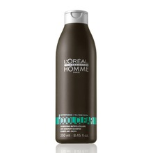 Loreal Professionnel HOMME Cool Clear Shampoo - Šampon proti lupům 250 ml