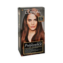 Loreal Professionnel Préférence RÉCITAL With Fade-Defying Colour - Barva na vlasy - 6.35/A3 Havane