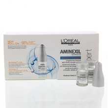 Loreal Professionnel AMINEXIL ADVANCED Advanced Double Action Hair Programme ( New roll-on ) - Intenzivní kúra proti padání vlasů 60 ml