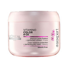 Loreal Professionnel VITAMINO COLOR A-OX Color Radiance Prostection Jelly Mask ( barvené vlasy ) - Maska na vlasy 500 ml