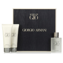 ARMANI Acqua di Gio Man Dárková sada pánská toaletní voda 100 ml, After Shave Balsam ( balzám po holení ) Acqua di Gio Man 50 ml a sprchový gel Acqua di Gio Man 50 ml
