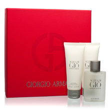 ARMANI Acqua di Gio Man Dárková sada pánská toaletní voda 50 ml, After Shave Balsam ( balzám po holení ) Acqua di Gio Man 75 ml a sprchový gel Acqua di Gio Man 75 ml