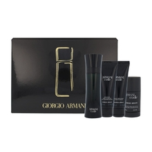 ARMANI Code for Men Dárková sada pánská toaletní voda 125 ml, After Shave Balsam ( balzám po holení ) Code for Men 75 ml, sprchový gel Code For Men 75 ml a deostick Code for