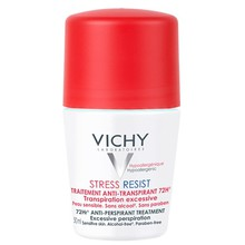 Vichy Stress Resist Traitement Anti-Transpirant 72H Roll-On - Roll-On proti nadměrnému pocení 50 ml