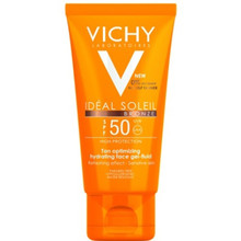 Vichy Ideal Soleil Bronze Gel-Fluid SPF 50 - Gel-fluid na obličej 50 ml