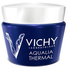 Vichy Aqualia Thermal Night Spa Replenishing Anti-Fatigue Cream-Gel - Intenzivní noční péče proti známkám únavy 75 ml