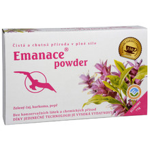 Emanace powder