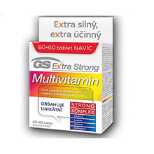 GreenSwan GS Extra Strong Multivitamin 60 tbl. + 60 tbl. ZDARMA