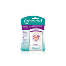 Compeed Plaster Patches Invisible - Náplasti na opary ( 15 ks )